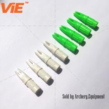 ViE Screw in Outdoor Hunting Archery Internal Plastic Arrow Nocks Fit 7.6mm Shaft