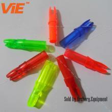 ViE Болт с резьбой для открытой охоты Охотничий лук Из пластика Пластиковый наконечник подходит для древка диаметром 6.2 мм