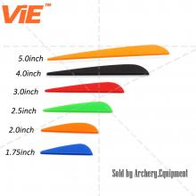 ViE Mutil-Color TPU Arrow Vanes Water Drop Shape for All Kinds of Bow Arrow