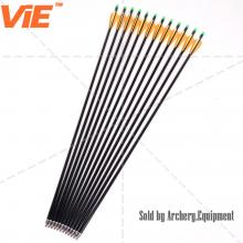 ViE 31 inch Spine 500 Fiberglass Arrows with 3 inches Plastic Material Vane -12 pack