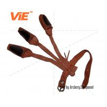 ViE 8.5inch Cow Leather 3 Finger Protector Lightweight Shooting Glove